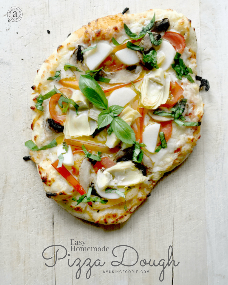 Homemade pizza dough is something you can make with a few simple ingredients and a little time. It's an easy process and the end result yields the best pizza dough and a delicious, chewy hard-to-beat thin, class or thick crust!