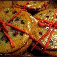Pomegranate Sugar Cookies