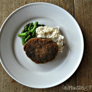 15 Minute Skillet-Fried Crusted Pork Chops
