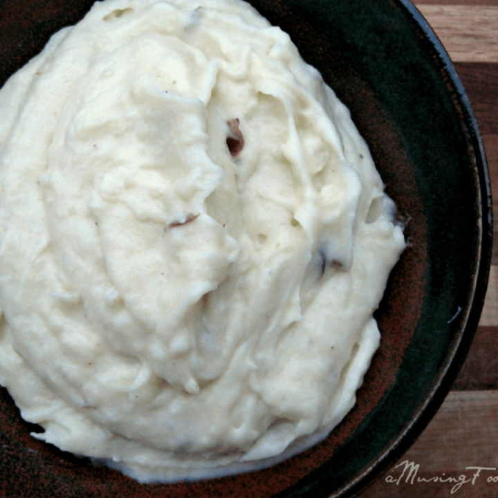 Whipped Parsnips and Potatoes