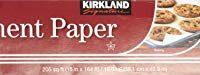 Kirkland Signature 587346 Parchment-1pk Non Stick Parchment 1 Pack Clear