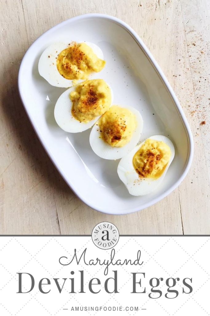 A sprinkle of Old Bay® turns this otherwise traditional and simple deviled eggs recipe into yummy spiced-up Maryland deviled eggs.