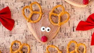 Rudolph Cookies for Kids