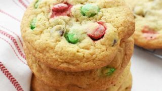 Chewy Chocolate Chip and M&M Cookies Recipe