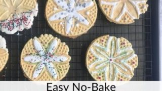 No-Bake Christmas Cookies From Store Bought Pizzelles