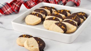 Orange Cardamom Almond Flour Cookies