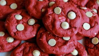 Red Velvet Cake Mix Cookies (Only 4 Ingredients)