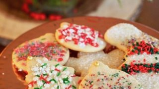 Joy's Classic Sugar Cutout Cookies