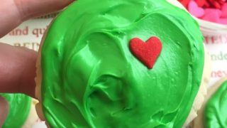 Yummy Grinch Sugar Cookies
