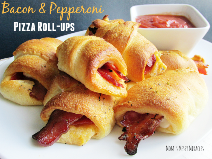 Bacon & Pepperoni Pizza Roll-Ups - The Shirley Journey